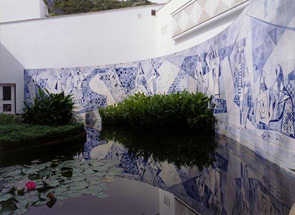 O interior do instituto é ainda mais encantador. Foto via Secretaria de Cultura do Rio de Janeiro.
