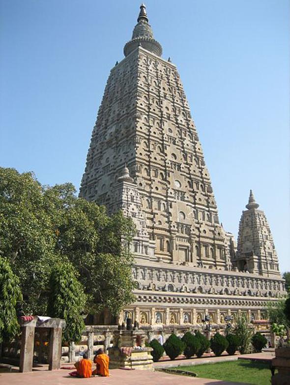 A beleza arquitetônica é equivalente ao valor religioso do templo para budistas de todo o mundo. Foto de Bpilgrim, via  Wikimedia Commons.